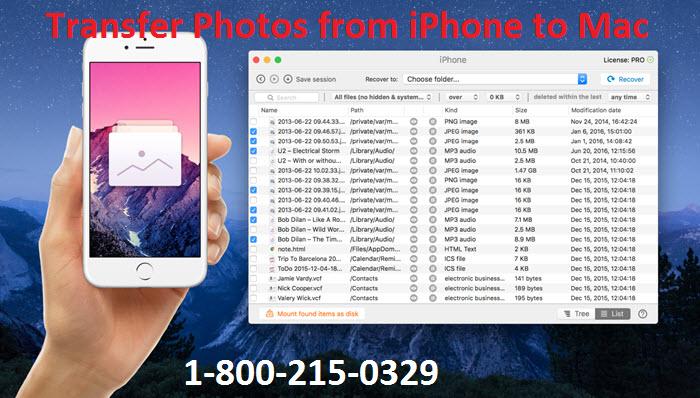 Comment transférer des photos de l'iPhone vers le Mac ?